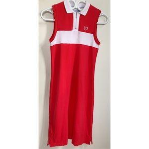 Simons Contemporaine colorblock polo dress